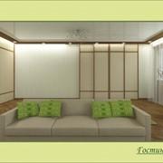 Дизайн квартиры в стиле экоминимализм с афроэлементами фото