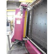 Стеклопакетная линия Lisec 1600 Х 2500 с газ прессом и роботом герметизации фото