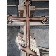 Крест могильный, надгробный фото