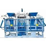 Вибропресс TITAN 10 VP. Вибропрессовый комплекс для производства мелкоштучных бетонных изделий на ба фото