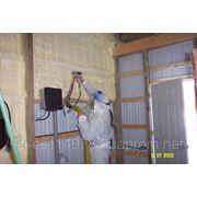 Напыление пенополиуретаном (компоненты производства Stepan foam (Европа), плотность 40 кг/м³) фото