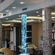 Пузырьковые колонны и колоннады фото