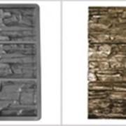 Форма для облицовки Валаамский камень 500x164x25 -3шт фото