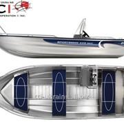 Алюминиевая лодка Linder 445 MAX SPORTSMAN фото