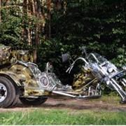 Изготовление трайков на заказ, обслуживание мотоциклов,ремонт Изготовление запчастей мототехники под заказ фото