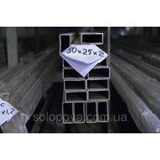 304 Труба профильная н/ж 80х4мм фото