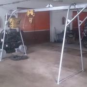 Кран в окно (подъемник) строительный Умелец К-1 КРК-320 кг фото