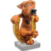"""Статуэтка Собака """"Подкова на счастье"""" (W.Stratford) (арт.RV-914 фото"""