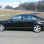 Аренда автомобилей Mercedes-Benz представительского класса с водителем фото