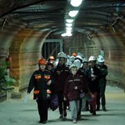 Соляная шахта фото