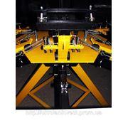 Оборудование для шелкографии-Плоскопечатный станок с вакумным прижимом фото
