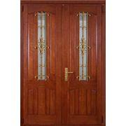 Накладки МДФ ламинированные ПВХ пленкой для входных бронированных дверей фото