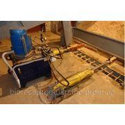 Оборудование склада сухого сырья с гидроприводом фото