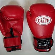 Перчатки боксерские CLUB PVC, красные, 12 OZ фото