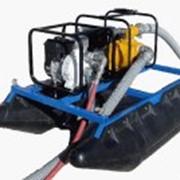Ручные мини земснаряды Piranha (США) для удаления песка, ила из озер и прудов, благоустройства водоемов, намыва и ухода за пляжами, укрепления береговой линии (Модель РS-135-E) фото