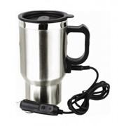 Электрическая термокружка Electric Mug для подогрева кофе или чая от прикуривателя 12V в автомобиле фото