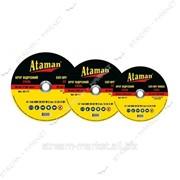 Ataman круг зачистной (прямой) 125*6, 0*22 КРАТНО УПАКОВКЕ 10 ШТ! фото