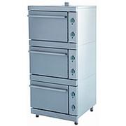 Шкаф жарочный ЭШВ-3 трехсекционный фото