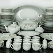 Сервиз фарфор Zarin Iran Сервиз столовый Elmira (62 предмета) фото