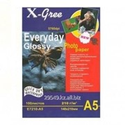 Фотобумага X-Gree 230 g/m2 10*15 100 list Premium Glassy фото