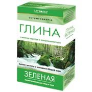 Глина зеленая косметическая 100 гр фото