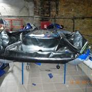 Ограждение гибкое на СВП Бриз 420 ткань ORCA фото