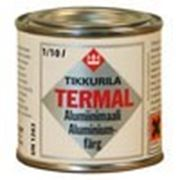 Краска жаропрочная для печей Термал / Termal 600 ( алюминиевая) фото