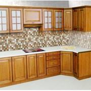 Кухня деревянная фото