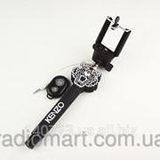 Монопод Kenzo 2in1 с Bluetooth и AUX шнурком фото