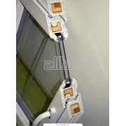 Стеклопакеты из стекла с мягким покрытием. фотография