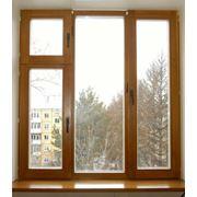 Окна деревянные из высококачественной сосны Ровно и Украина. фото