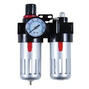 Блок подготовки воздуха (фильтр, редуктор, манометр, маслообогатитель ) фото