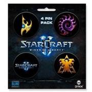 Значки СтарКрафт Набор Starcraft фото