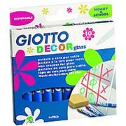 Набор акварельных восковых карандашей Giotto Decor Glass фото