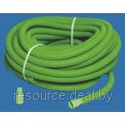 Шланг для полива O25мм длина 30м в упаковке с втулками (зеленый,внутр.O20мм) фото