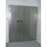 Петлевые двери для холодильных камер из нержавеющей стали фото