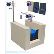 Расходомер для открытых каналов ультразвуковой лотковый сточных вод MQU 99-S Чехия фото