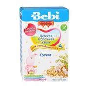 Бэби каша премиум гречка с молоком (с 4 мес) 200г фото