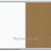 Доска COMBI маркерная магнитная/ пробковая 90х60см ALU23 2x3 (Польша) TCASC96 фото