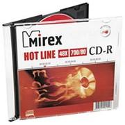 Компакт диск CD-R 700мБ Mirex Хотлайн тонкие-слим- фото