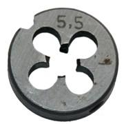 Плашка М5,5х0,5, 9ХС, основной шаг, 20/5 мм фото