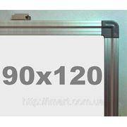 Доска магнитно - маркерная в алюминиевой раме (90х120см) S.Cace фото