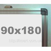 Доска магнитно - маркерная в алюминиевой раме (90х180см) S.Cace фото