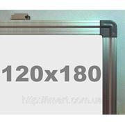 Доска магнитно - маркерная в алюминиевой раме (120х180см) S.Cace фото