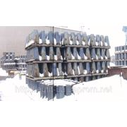 Базальтовые вкладыши для футеровки труб фото