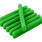Воск цветной зеленый фото