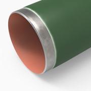 Трубы стальные с наружным защитным эпоксидным покрытием фото