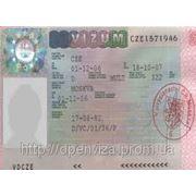 Шенгенская виза в Чехию фото