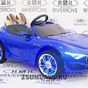 Детский элеткромобиль Maserati A005AA синий фото