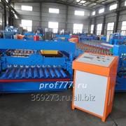 Профилегибочный станок для производства профнастила C21 из Китая фото